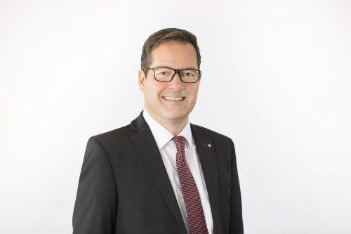 Martin Jäger, Sprecher der Vorarlberger Sparkassen. spk