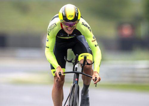 Maximilian Kuen und Co. sind für die Rad-Bundesliga bestens gerüstet.GEPA