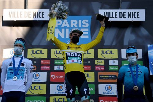 Maximilian Schachmann triumphierte wie 2020 bei Paris-Nizza. AFP