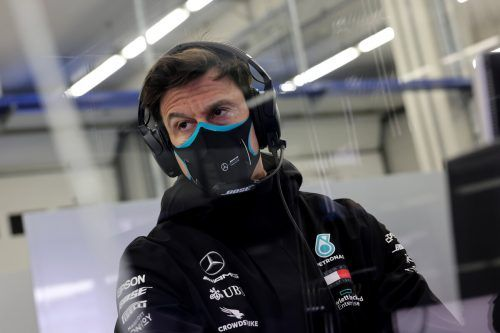 Mercedes-Motorchef Toto Wolff ist als Psychologe und Motivator gefragt.Reuters