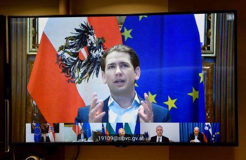 Mit Amtskollegen aus Kroatien, Bulgarien, Lettland und Tschechien will Kurz eine Neuaufteilung. AFP