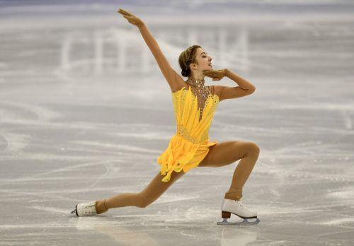 Mit einem überzeugenden Kurzprogramm hat sich Olga Mikutina eine gute Ausgangsposition für ihre WM-Kür am Freitag geschaffen.