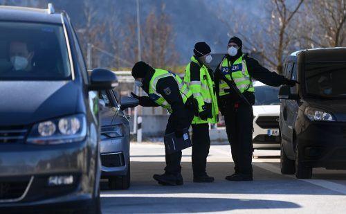 Mitte Februar sind strenge stationäre Kontrollen eingeführt worden. AFP