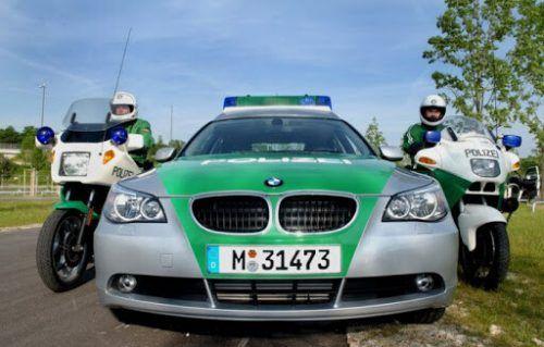 Nervenaufreibender Einsatz für die Polizei in Sonthofen. POLIZEI
