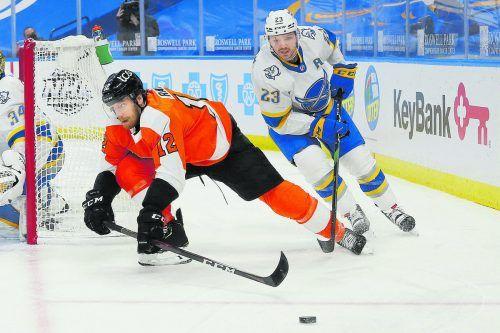 """NHL-Export Michael Raffl wurde zum dritten Mal zu Österreichs """"Eishockeyspieler des Jahres"""" gekürt.ap"""