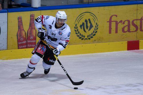 Erzielte einen Treffer im Test für die VEU gegen Chur: Niklas Gehringer. lerch