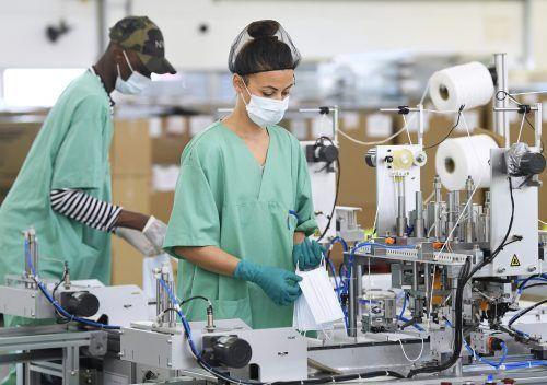 Noch ist nicht klar, wie viele Masken von Hygiene Austria in Wahrheit aus China stammten, statt - wie beworben - in Österreich produziert zu werden. APA