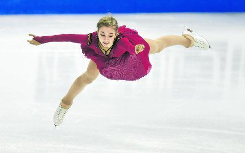 Olga Mikutina bezauberte bei der WM mit Eleganz und punktete mit einem sauberen Programm, verbesserte ihre Bestleistung um fast 50 Punkte. Ihr achter Platz bringt Österreich zwei Olympia-Quotenplätze für Peking.ap
