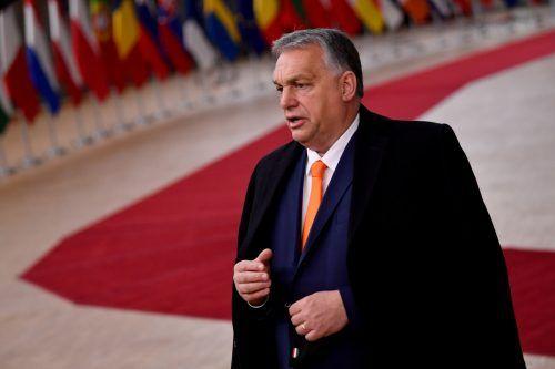 Orbans Fidez verlässt die christdemokratische Parteienfamilie. reuters