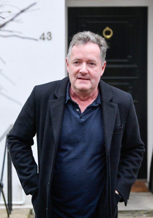 Piers Morgan hatte Zweifel an Meghans Suizid-Aussage geäußert. Reuters