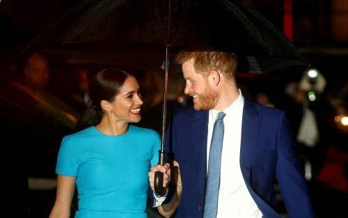 Prinz Harry sorgt sich um seine Ehefrau Meghan. AFP