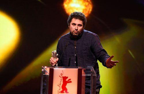 """Radu Jude erhielt den Hauptpreis für einen """"kunstvoll ausgearbeiteten"""" Film. AFP"""