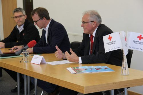Roland Gozzi und das Rote Kreuz sind in Misskredit geraten. vol.at/Mayer