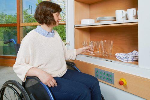 Schubladen – für Menschen mit Handicap konzipiert. epr/KOITKA/©Markus Nilling