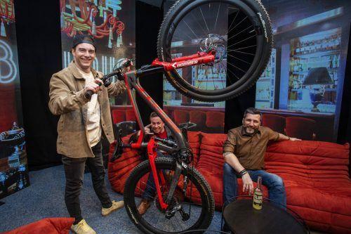 """Scott Mountainbike-Profi und YouTube-Star Elias Schwärzler ist morgen, Samstag, zu Gast im """"Klubhaus"""". VN/Paulitsch"""