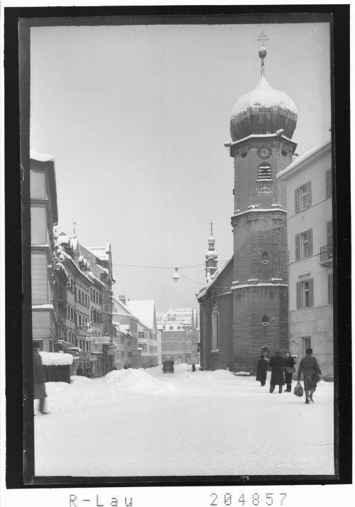 So sah der Bereich rund um das Gotteshaus 1940 aus.