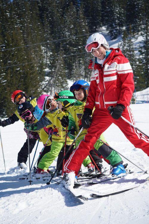 So unbeschwert sollen Skikurse irgendwann wieder möglich sein. L. Berchtold