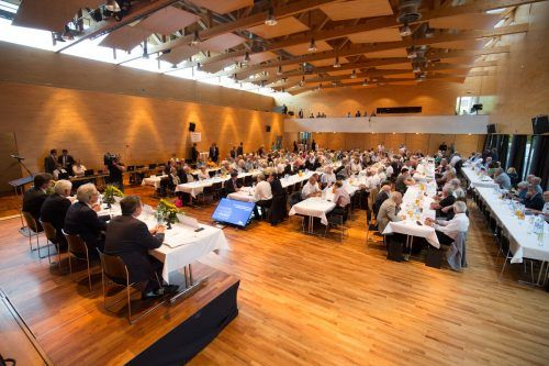 Bei der VKW-Hauptversammlung 2017 in Wolfurt wurde um die Squeeze-out-Angebote an die Kleinaktionäre hart gekämpft. VN/KH