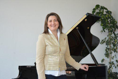 Sprache und Musik gehören für Cristina Mingarelli stets zusammen.BVS (2)