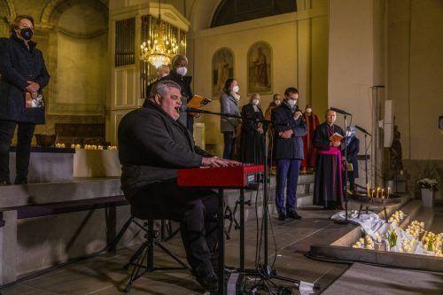 St. Martin in Dornbirn war am Donnerstagabend ein Gotteshaus für alle Vorarlberger. VN/Paulitsch