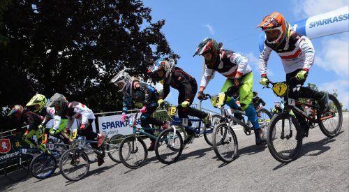 Start frei für die neue BMX-Saison.BMX-Club Sparkasse Bludenz