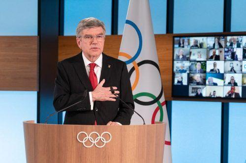 Thomas Bach bleibt bis 2025 an der Spitze des Olympischen Komitees.apa
