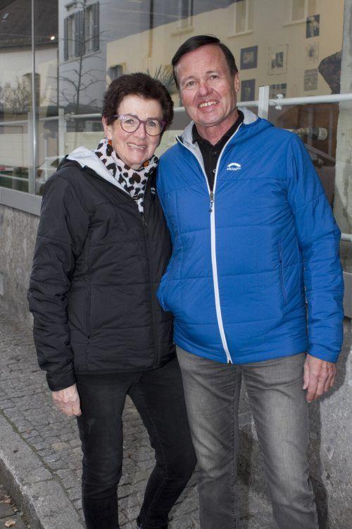 Trudi und Gernot Kulhay kamen zur Ausstellung.