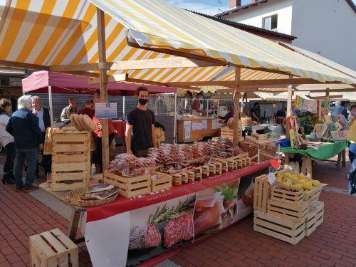 """Unter anderem unterstützt der Wolfurter Markt heute, Freitag, die VN-Sozialaktion """"Ma hilft""""."""
