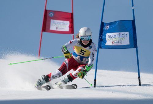 Victoria Olivier wurde als Gesamt-Zweite ÖSV-Jugend-I-Meisterin im Slalom.