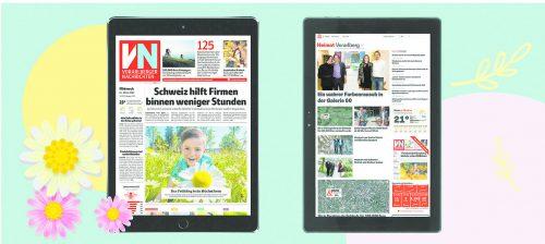 VN-Abonnenten können zwischen dem aktuellen iPad 8. Generation und dem Terra Pad 1006 wählen.vn