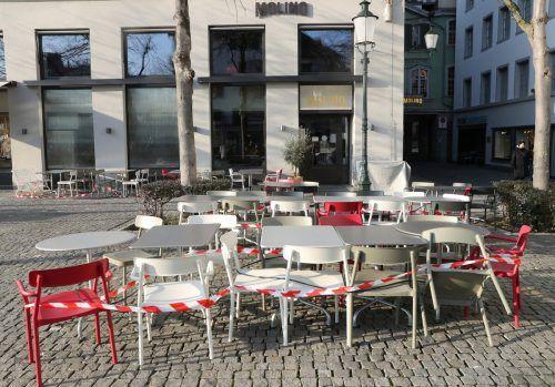 Vorerst keine Gäste: Die Schweizer Regierung will restriktiv bleiben. reuters