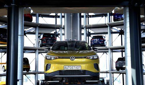 VW wollte mit dem Scherz offenbar den Start des SUV ID.4 hervorheben. AFP