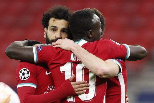 Wie schon im Hinspiel trugen sich Salah und Mané in die Schützenliste ein.ap