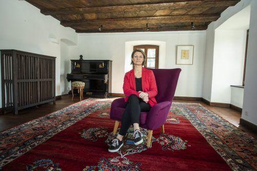 """""""Wir stehen seit einem Jahr still"""", klagt Karin Peer, die auf Schloss Amberg in Feldkirch Hochzeiten betreut. VN/Paulitsch"""