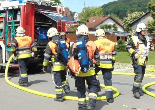Zu 43 Einsätzen – rund doppelt so viele als im Jahr davor – wurden die Koblacher Feuerwehrleute 2020 gerufen.Mäser