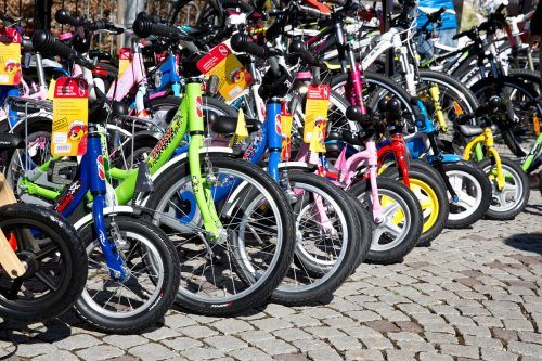 Zum Start der Zweiradsaison findet die Fahrradbörse in Bludenz auf dem Vorplatz der Remise am Samstag, 27. März, statt. Bludenz Stadtmarketing GmbH