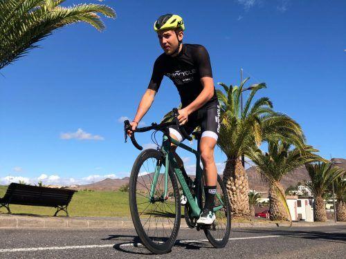 2020-Shootingstar Leon Pauger will auch in dieser Triathlonsaison wieder mit Spitzenleistungen aufzeigen.Privat