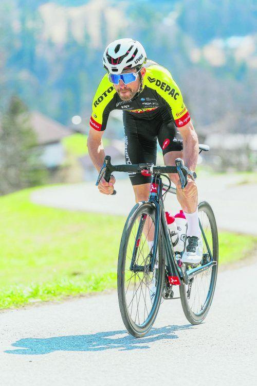 Alexis Guerin steht nach einem Sturz mit einer Schulterverletzung seinem Team Vorarlberg für längere Zeit nicht zur Verfügung.Stiplovsek