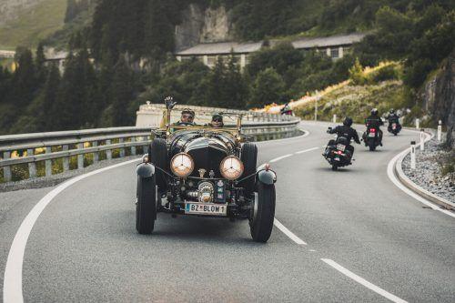Am letzten Juni-Wochenende sind wieder automobile Raritäten in Lech am Start.  Lech Zürs