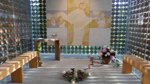 Am Sonntagabend findet die Maiandacht bei der Familienkapelle statt.Kapellenverein Fraxern
