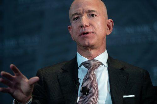 """Amazon-Chef Jeff Bezos: """"Alle müssen einen Beitrag leisten.AFP"""