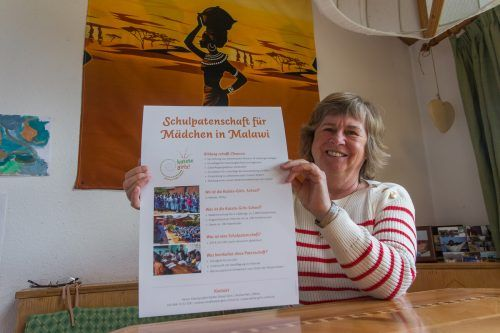 Andrea Reis führt die Arbeit ihres verstorbenen Mannes weiter. Die Mädchenschule in Malawi hat viele Vorarlberger Unterstützer.VN/Steurer