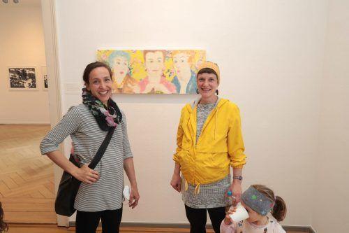 Anna Tomaselli und Melanie Berlinger.