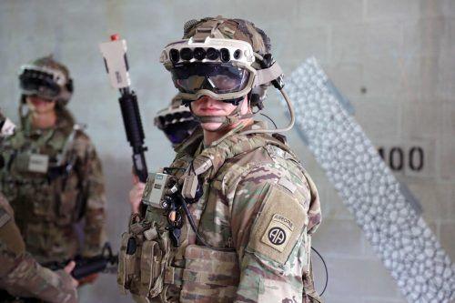 Augmented-Reality-Brillen gehören zum Lieferprogramm für US-Army. AFP
