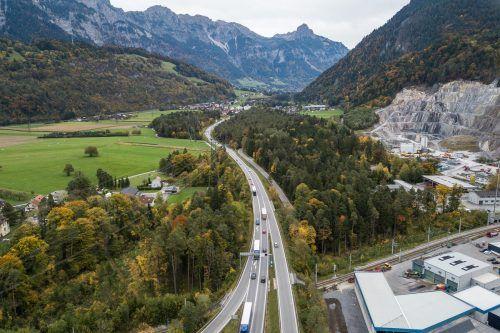 Beim Anschluss Bludenz-Montafon starten die Hauptarbeiten im kommenden Frühjahr.VN/Steurer