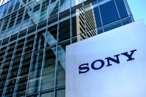 Beim Elektronikkonzern Sony freut man sich über die aktuellen Zahlen.AFP