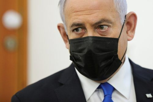 Benjamin Netanjahu erschien am Montag vor Gericht.REUTERS