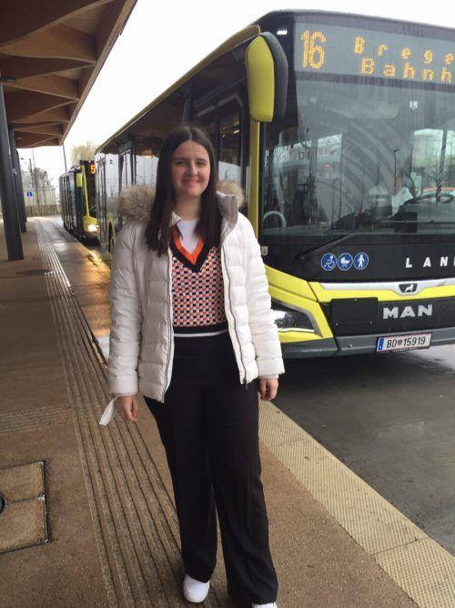 Die Schülerin Kristina Stefanovic aus Lustenau bewies Zivilcourage. VN/GS