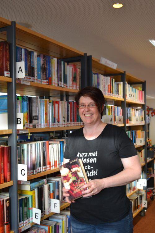 Bibliothekarin Klaudia Büchel ist es besonders wichtig, die Lesefreude bei Kindern zu wecken.BI