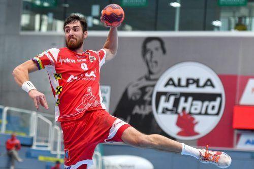 Boris Zivkovic zog sich gegen Krems eine Oberschenkelverletzung zu. GEPA